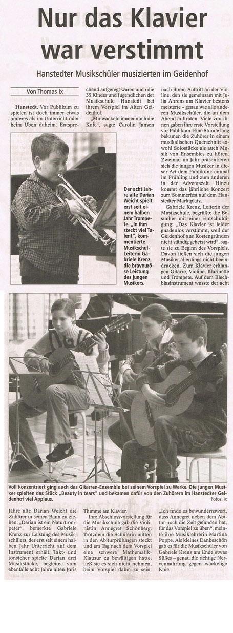 Winsener Anzeiger 10.03.2005