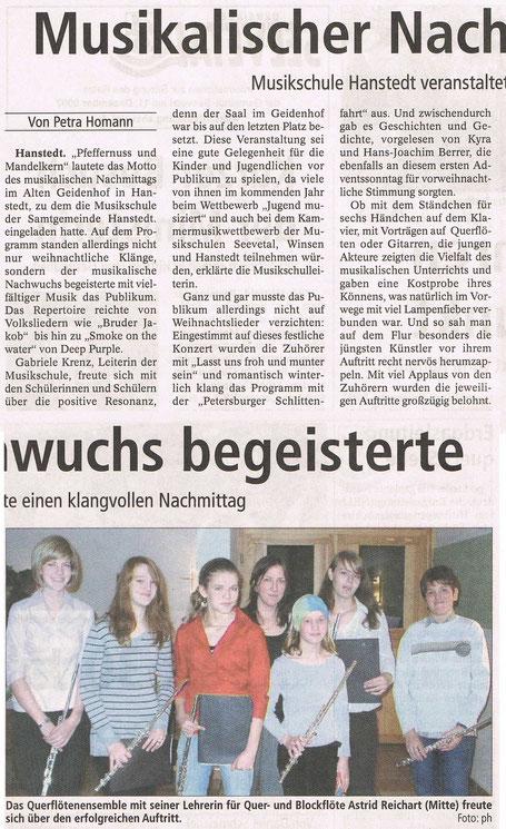 Winsener Anzeiger 04.12.2007