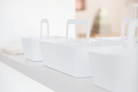 白い雑貨の画像