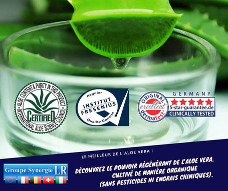 Les labels de qualités des produits LR à l'Aloe Vera