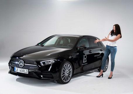 Concept voiture exclusif, Renault ou Mercedes
