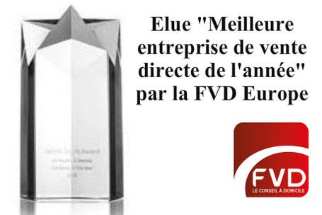 """L'association européenne des entreprises de vente directe (FVD Europe), a décerné le prestigieux prix de """"Meilleure entreprise de vente directe de l'année 2015"""" à LR Health and Beauty."""