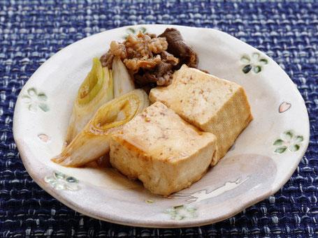 豆腐のごま和え完成写真