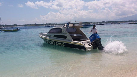 Speedboat charter, quick way to get to gili islands