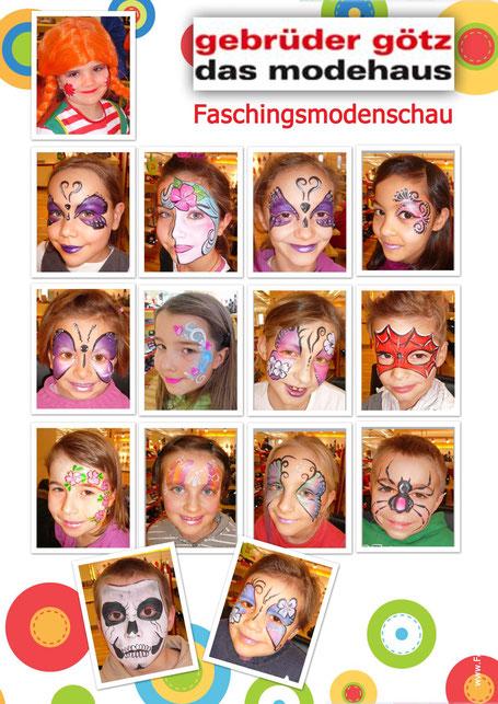 Gebrüder Götz Würzburg Faschingsmodenschau
