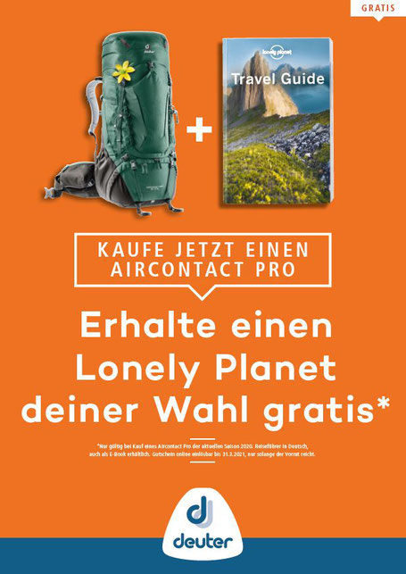 Prospekt Aktion Aircontact Pro - Lonely Planet