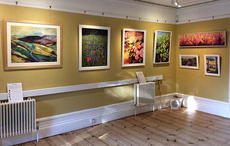 colourful places art exhibition