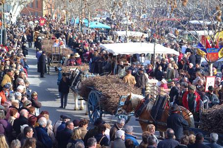 festivités Saint Valentin de Roquemaure - Fête de la Taille de la Vigne