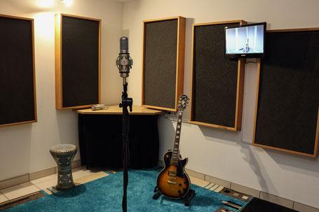 Amp Room Gitarre Aufnehmen Saxophon Geige Flöle