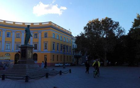 Duke de Richelieu monument in Odessa