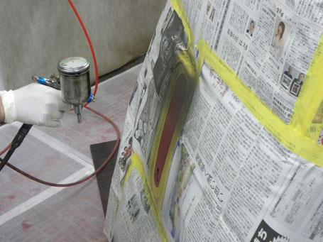 電動エコカーショップYOSHIDA 赤べこ車含漆UV塗装