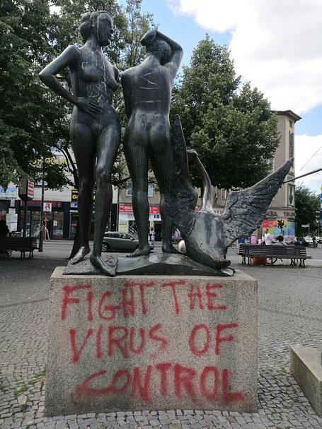 Berlijn in corona-tijden: Tussen hoop en vrees. Foto's: Peter Bijl
