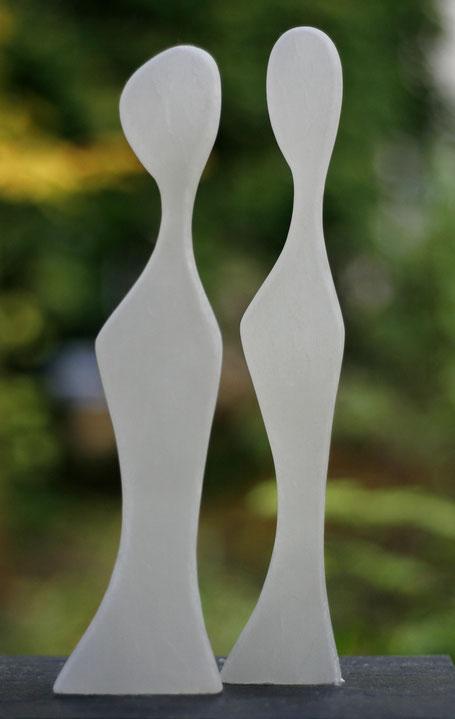 Heidrun Feistner: Belles de jour - 3 und 4 / Alabaster / Foto HF