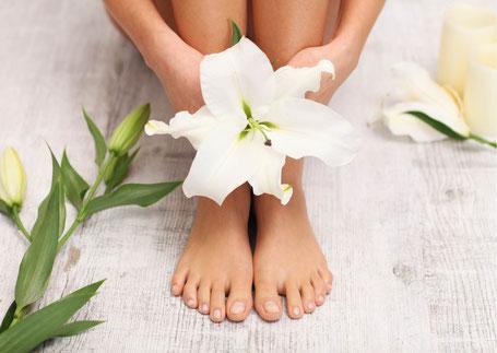 Erfrischende Fußbehandlung in der Beauty & Wellness Auszeit in Affing
