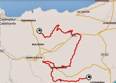 Auf den Spuren der Rally Sardegna