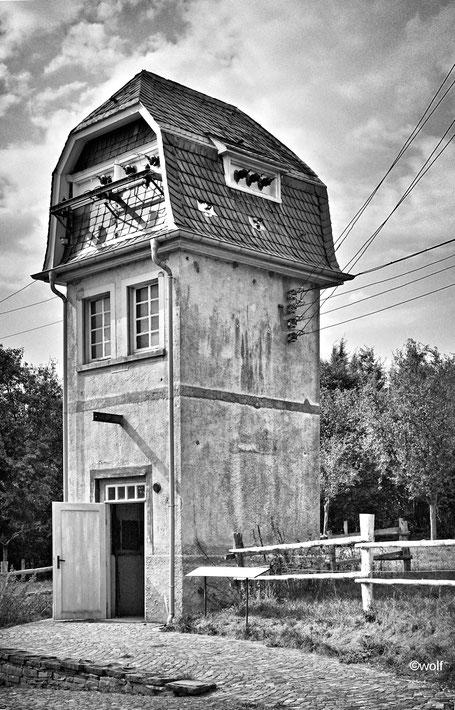 Transformatorenhaus Hückeswagen - Herweg, im Freilichtmuseum Lindlar wieder aufgebaut.