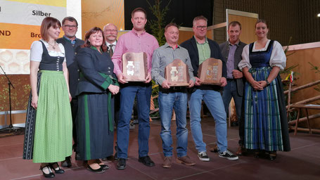 Sieger der Kärntner Bären in der Kategorie Blütenhonig 2019