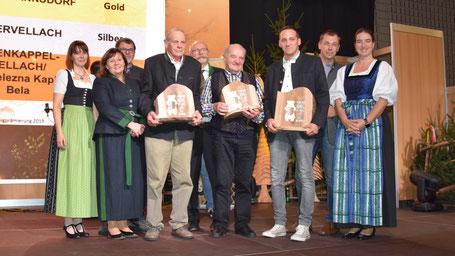 Sieger der Kärntner Bären in der Kategorie Blüten-Waldhonig 2019