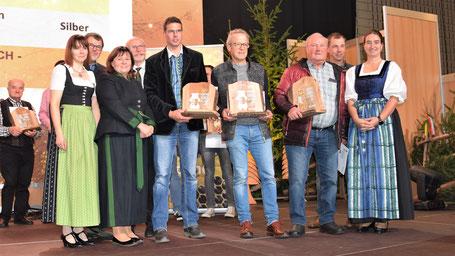 Sieger der Kärntner Bären in der Kategorie Waldhonig 2019