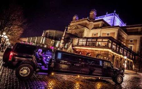 limousine möhippa och svensexa
