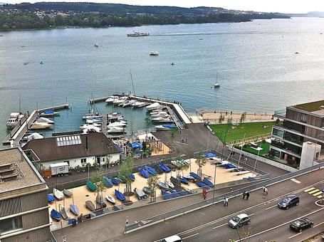 Hafen Beau-Rivage - Standort Bieler Segelcenter