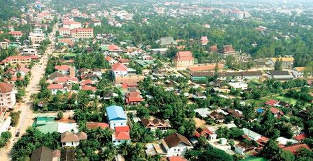 Vue sur Siem Reap