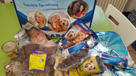 Tombola-Gewinn Schlemmertasche von ARAS