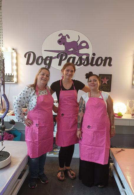 Drei Damen vom DogWalk-Grill, Foto: Oetken