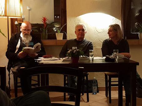 Ike Breker, Christiane Lövenich , Burkhard Thom, Foto: Oetken