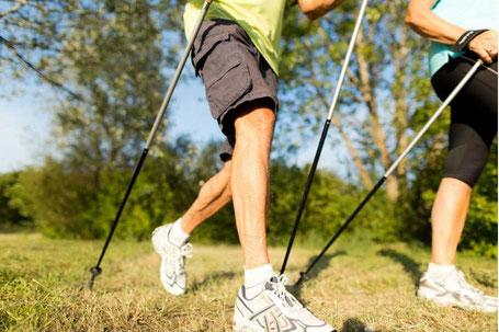 Outdoorfit - Cardio Training - Nordic Walking mit Vita Fit in Hunzenschwil