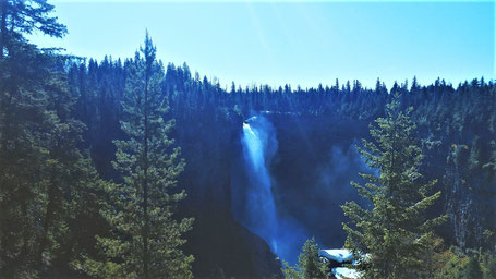 Reiseroute British Columbia: Helmcken Falls im Wells Gray Park