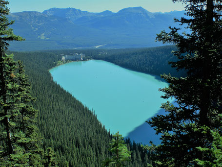 Kanada Rundreise Westen: Lake Louise im Banff Nationalpark