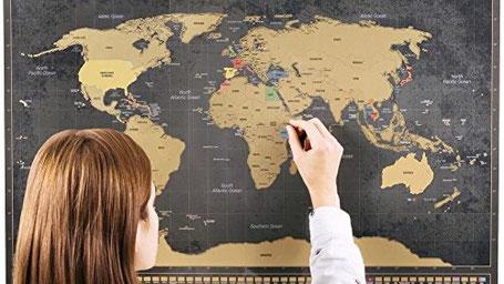 Geschenke für Weltreisende