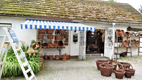 Tipps Kap Arkona Rügen - traditionelles Korbflechterhandwerk