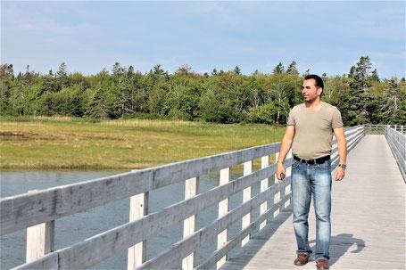 Kanada Osten Rundreise: Wandern im Kouchibouguac Nationalpark