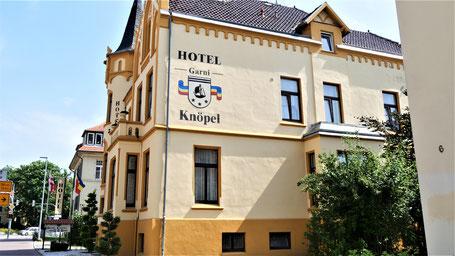 Wismar Hotels: Hotel Knöpel im Süden der Altstadt
