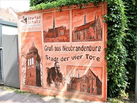 Mecklenburgische Seenplatte Sehenswürdigkeiten: Neubrandenburg