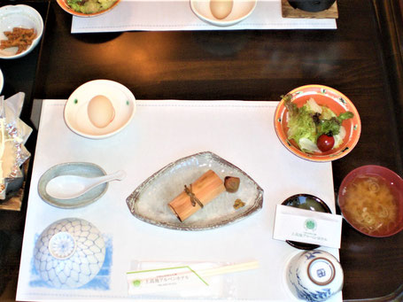 Ryokan Hotel Japan Frühstück