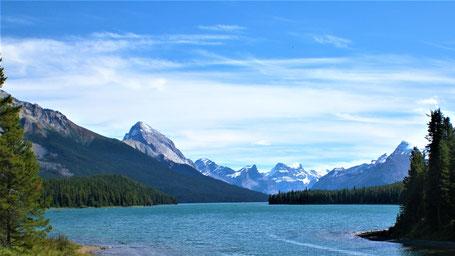 Kanada Rundreise Westen: Durch den Jasper Nationalpark