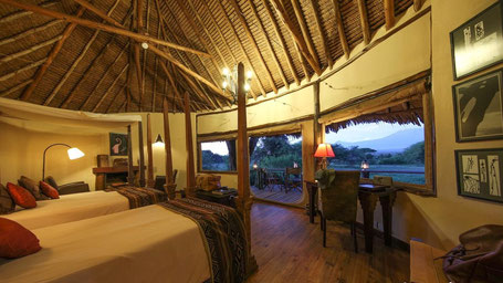 Kenia Rundreise TIpps Safari Lodges