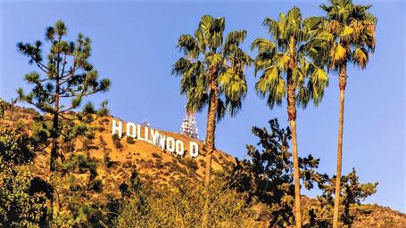 Kalifornien Rundreise Route: Das Hollywood Zeichen