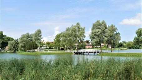 Stralsund Urlaub Tipps: Entspannen am Knieperteich