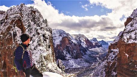 USA Rundreise Nationalparks Westen: Der Zion Canyon im Winter