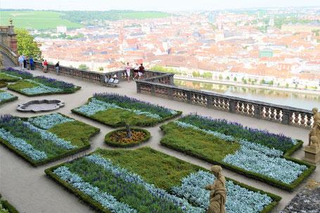 Würzburg Geheimtipps: Der Fürstengarten