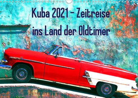 kuba oldtimer fotos kalender 2021