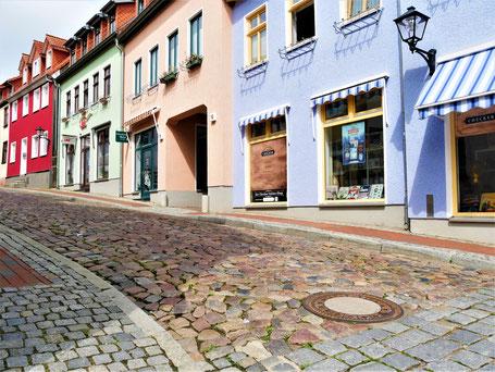 Mecklenburgische Seenplatte Sehenswürdigkeiten: Altstadt von Waren an der Müritz