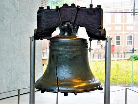 Rundreise USA Ostküste: Liberty Bell, die Freiheitsglocke von Philadelphia