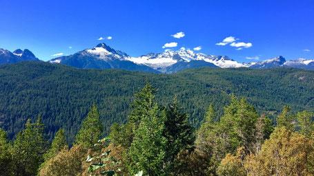 Reiseroute British Columbia: Bergwelt von Whistler