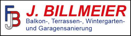 Balkonsanierung / Terrassensanierung / Wintergartensanierung und Garagensanierung Billmeier