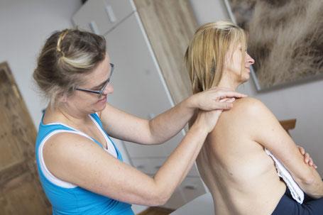 Massage, Heilmassage, Lympthtrainage